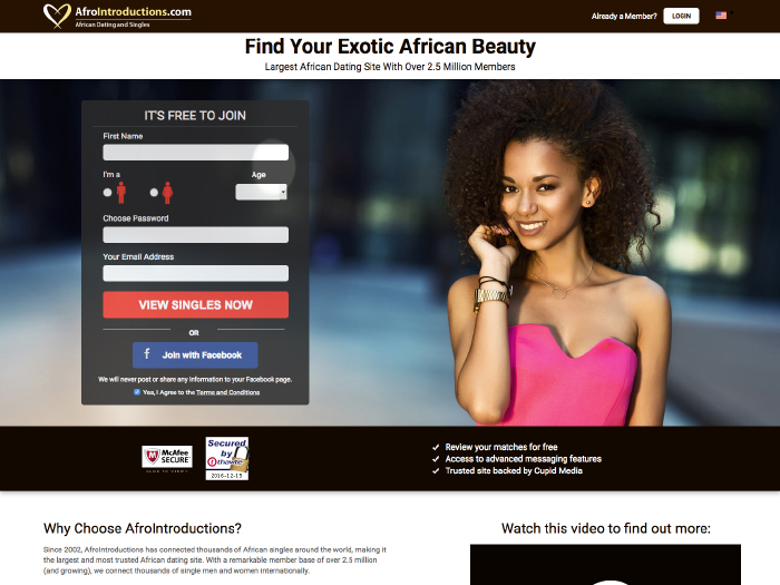 Afrointroductions com review