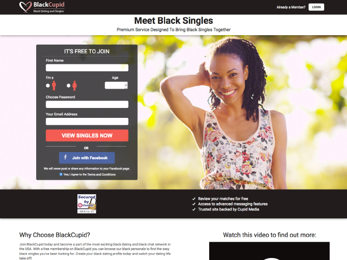 Free black dating site