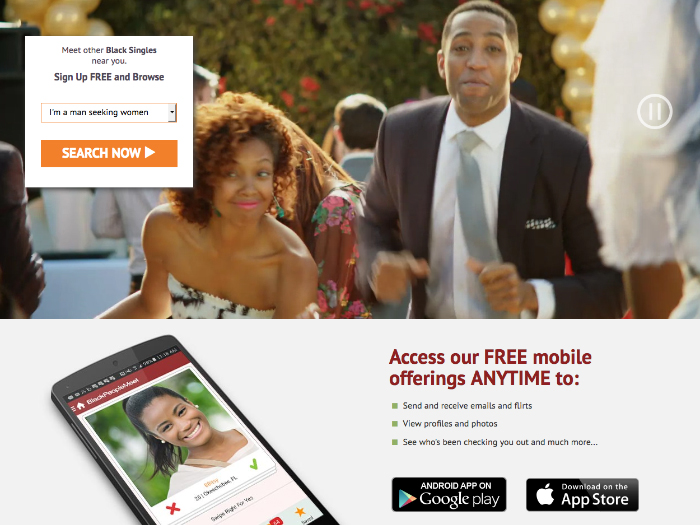 whitewood black dating site Afroromance is the premier interracial dating site for black & white singles join 1000's of singles online right now register for free now.